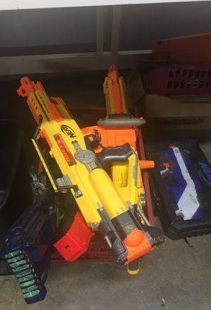 Bunch of nerf guns for Sale in Benicia, CA