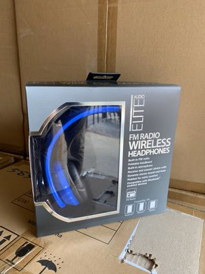6 pack Wireless headphones blue for Sale in Downers Grove, IL