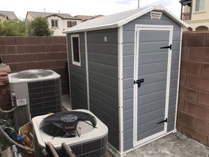 SHED - 56 inches wide 6 Ft long 6 1/2 feet tall for Sale in Las Vegas, NV