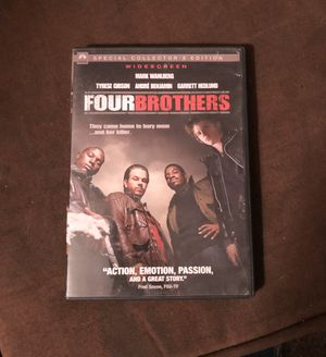 4 brothers movie DVD for Sale in Fontana, CA