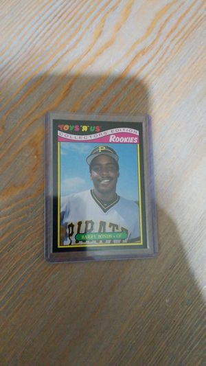Baseball card- barry bonds toys r us rookie for Sale in Roseburg, OR