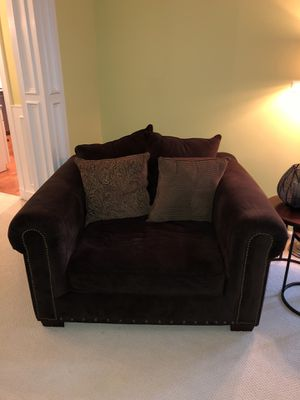 Dark Brown Armchair for Sale in Woodbridge, VA