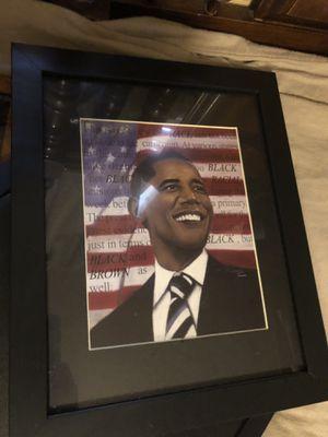 Barack Obama photo frame for Sale in White Hall, AR