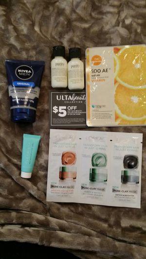 NEW Philosophy Nivea L'Oréal Tencel Clearista Body Wash Face Masks Scrub $5 Ulta Coupon - $15 - PARMA for Sale in Parma, OH
