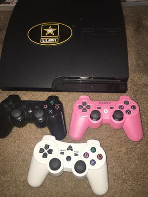 PS3 With Games & Controllers for Sale in Long Beach, CA