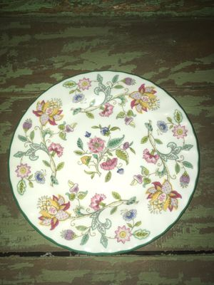 "6-1/2"" Minton Haddon Hall Floral Pattern Dessert Side Plate for Sale for sale  Citrus Heights, CA"