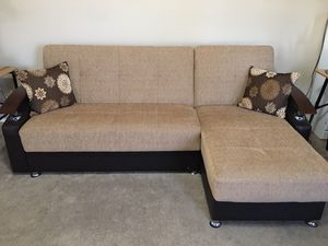 Couch by rain for Sale in Glendale, AZ