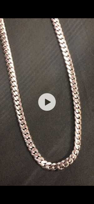 Miami Cuban link 8mm 28 inches for Sale in Germantown, MD