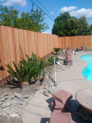 Redwood gate fence for Sale in Parlier, CA
