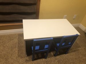 IKEA kids table and chairs for Sale in San Jose, CA