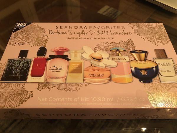 Sephora Perfume Sample Kit & Full Size Coupon