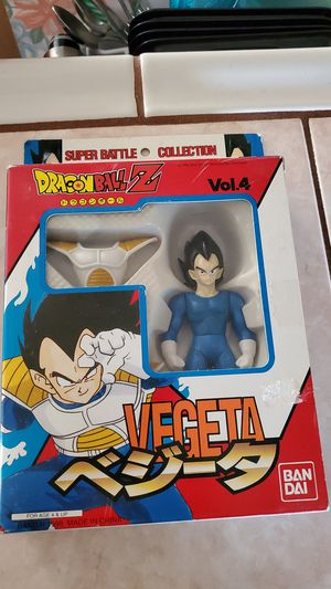 Dragon Ball Z Super Battle Collection vol.4 Vegeta for Sale in Lincoln Acres, CA