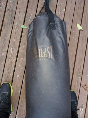 Everlast Boxing Bag and Stand for Sale in Bellevue, WA