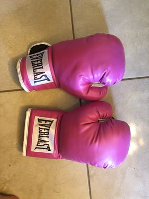 Pink boxing gloves for Sale in North Port, FL