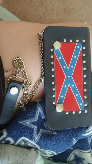 Rebel Flag trucker wallet for Sale in Orange, TX