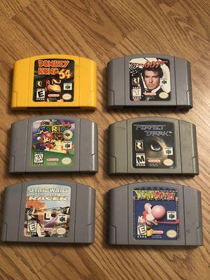 Nintendo 64 N64 Games Lot for Sale in Stockton, CA