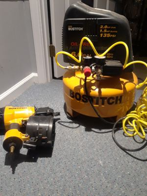 Bostitch compressor and framing nailer for Sale in MONTGOMRY VLG, MD