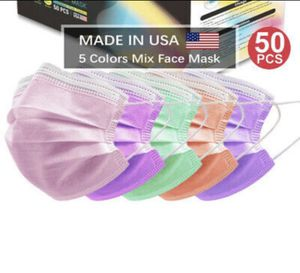 Face masks. 5 colors. 50 count for Sale in Bell Gardens, CA