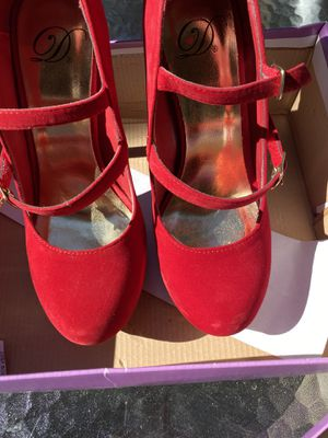 Red shoes for Sale in Hayward, CA
