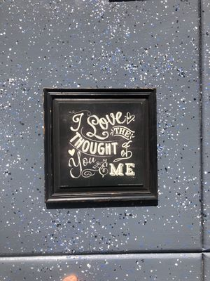 LOVE TGE THOUGHT OF YOU AND ME PICTURE for Sale in Phoenix, AZ
