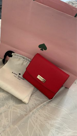 Kate Spade Hot Chilli Petty Wallet for Sale in Laurel, MD