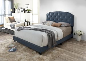 Gray King Bed Frame for Sale in York, PA