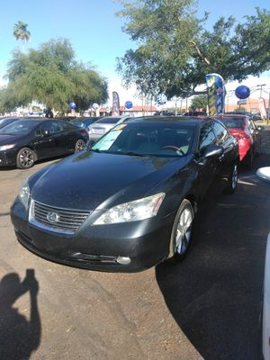 2007 lexus ES350 ⚾ starting at $799 down payment ⚾ everyone is approved ⚾ aqui su amigo jesus les ayuda for Sale in Glendale, AZ