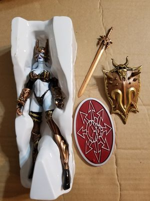 NEW IN BOX 1999 Lady Death Toyfare Exclusive Wizard Bronze Age Action Figure for Sale in Hillsboro, OR