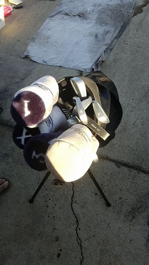 Cougar irons and bullet wood and driver, Taylormade Bag for Sale in Poway, CA