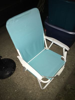 Backpack beach chair only $20 firm for Sale in Baltimore, MD