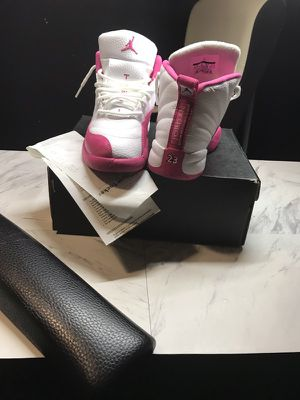jordan pink 12's for Sale in Denver, CO