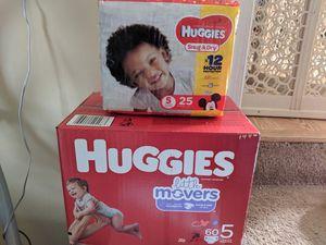 Huggies size 5 for Sale in Newport News, VA