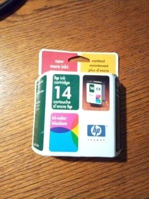 Hp Inkjet cartridge Tri-color 14 for Sale in Fenton, MO