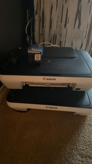 Two canon printers with print ink for Sale in Wylie, TX