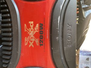 Car Stero System Sony 1200 Watts for Sale in Washington, DC