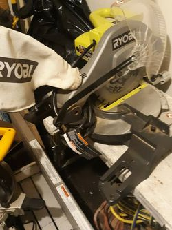 Ryobi 10in Miter Compound Saw for Sale in Newburgh Heights,  OH