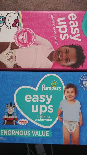 Pampers / Diapers Sz. 4t - 5t easy ups for Sale in Dallas, TX