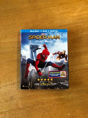 Spider-Man Homecoming (Blu-Ray & DVD) for Sale in Perris, CA