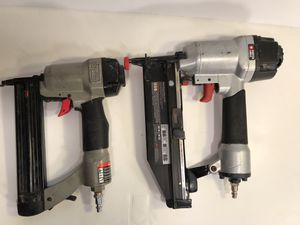 2 Air Compressor Nail Guns for Sale in Hull, MA