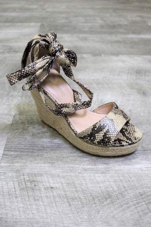 Snakeskin Wedge Heels SIZES 5.5-6-6.5-7-7.5-8-9-10 for Sale in Brambleton, VA