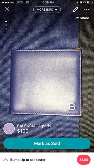 BELENCIAGA.paris wallet for Sale in Queens, NY