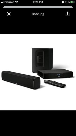 Bose Cinemate 120 for Sale in Chicago, IL