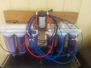 Bulk Reef Supply 7 Stage Value Plus RO/DI System w/Boost Pump for Sale in Fort Walton Beach, FL
