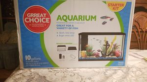 Great choice 10 gallon aquarium starter kit for Sale in Oakley, CA