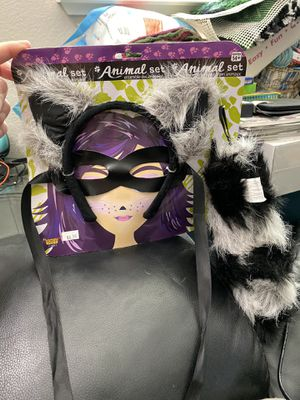 New Raccoon Halloween Costume Accessory Kit! for Sale in Pittsburg, CA