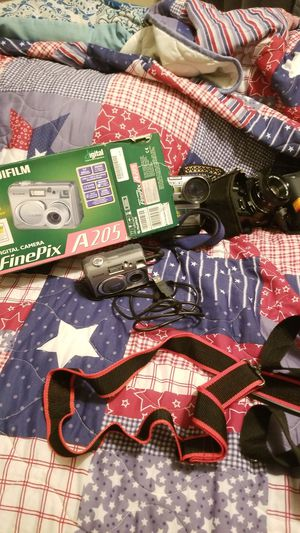 Digital, film cameras an accessories for Sale in Princeton, TX