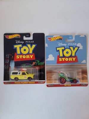 Hot Wheels Toy Story RC & Pizza Planet Truck for Sale in Grand Prairie, TX