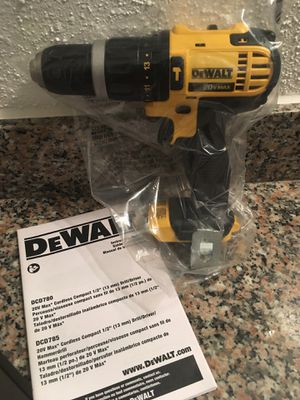 Dewalt 20v max drill with hammer setting for Sale in Houston, TX