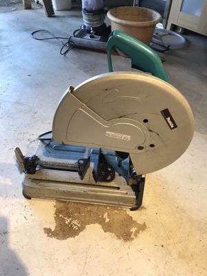 "Makita cut-off saw model 2414NB 14"" portable chop saw for Sale in Tacoma, WA"