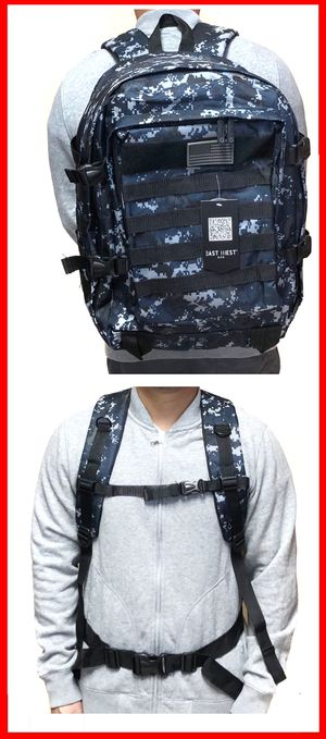 NEW! Tactical military style BACKPACK molle camping fishing hiking school bag work travel luggage bag gym bag for Sale in Carson, CA